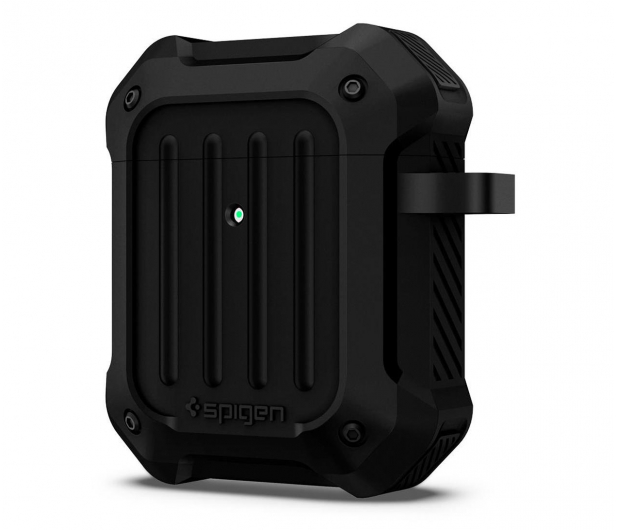 Spigen Tough Armor do Apple AirPods czarne   - 527222 - zdjęcie