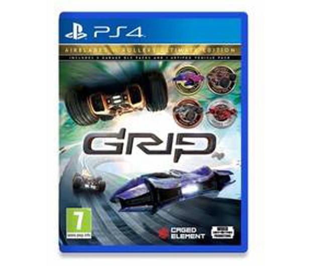 PlayStation GRIP: Combat Racing - Rollers vs AirBlades U. Ed. - 527446 - zdjęcie