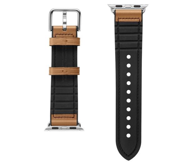 Spigen Pasek Skórzany Retro Fit do Apple Watch brązowy - 527315 - zdjęcie 3