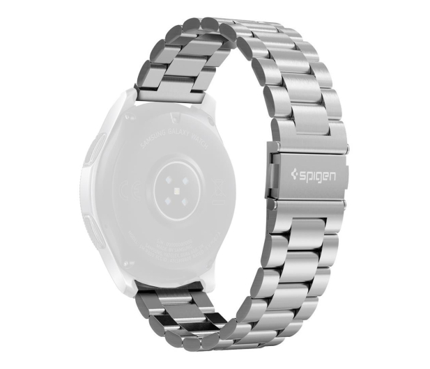 Spigen Modern Fit Band do Galaxy Watch 46mm Silver - 527364 - zdjęcie 1