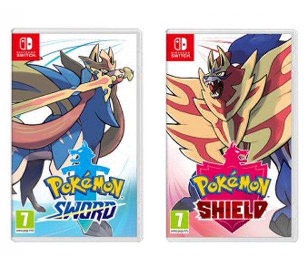 Nintendo Pokemon Sword & Shield Dual Pack - 527408 - zdjęcie 2