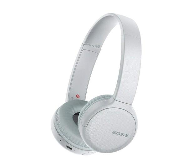 Sony WH-CH510 Białe - 526950 - zdjęcie