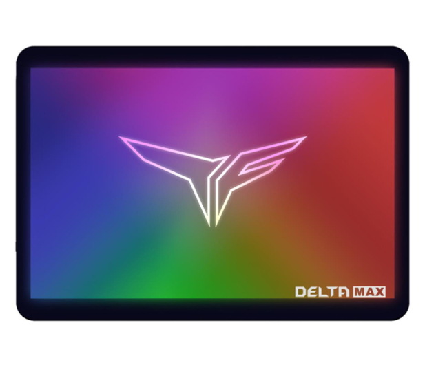 "Team Group 250GB 2,5"" SATA SSD T-Force Delta Max RGB - 527907 - zdjęcie"