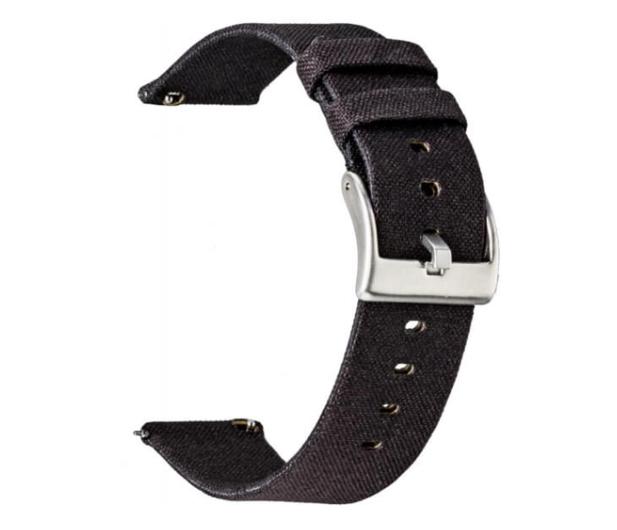 TOPP Pasek do smartwatcha Nylon Pleciony czarny - 528058 - zdjęcie