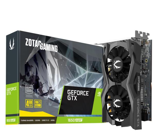 Zotac GeForce GTX 1650 SUPER Gaming Twin Fan 4GB GDDR6 - 528499 - zdjęcie