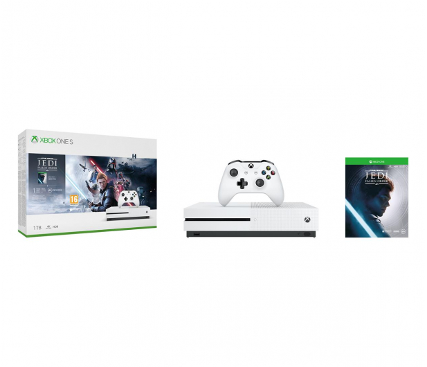 Microsoft Xbox One S + STAR WARS: Upadły Zakon - 527911 - zdjęcie 9