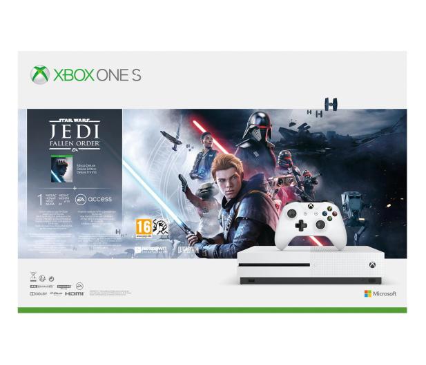 Microsoft Xbox One S + STAR WARS: Upadły Zakon + TV - 542937 - zdjęcie 9