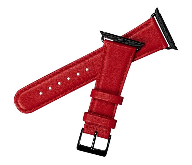 Sena Pasek Skórzany do Apple Watch czerwony - 528118 - zdjęcie