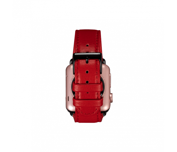 Sena Pasek Skórzany do Apple Watch czerwony - 528118 - zdjęcie 5