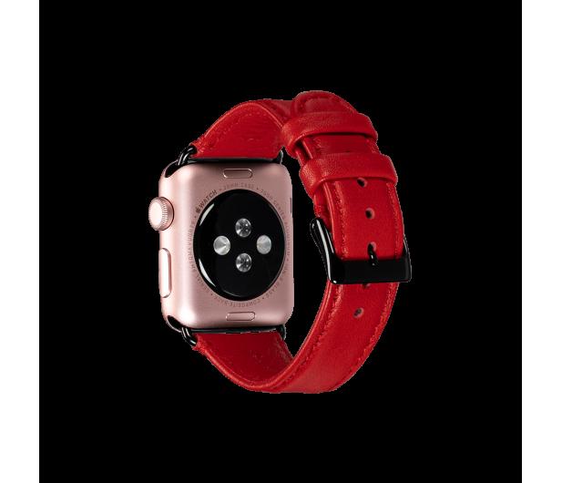 Sena Pasek Skórzany do Apple Watch czerwony - 528118 - zdjęcie 3