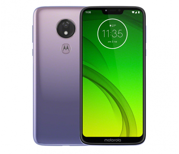Motorola Moto G7 Power 4/64GB Dual SIM fioletowy + etui - 520443 - zdjęcie