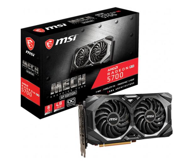 MSI Radeon RX 5700 MECH GP OC 8GB GDDR6 - 526247 - zdjęcie