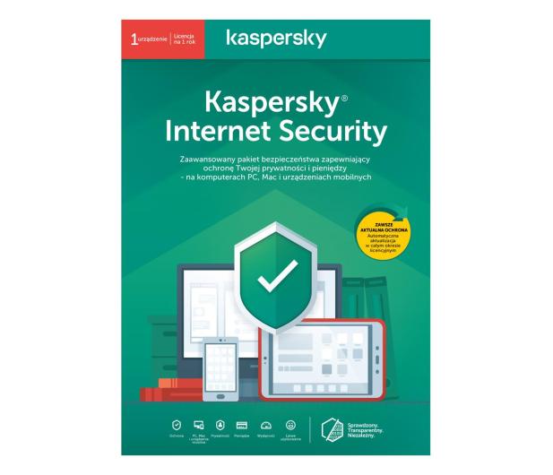 Kaspersky Internet Security Multi-Device 1st. (12m.) ESD - 410846 - zdjęcie