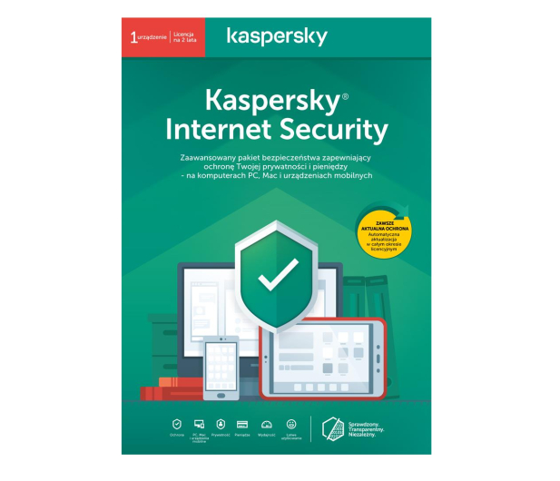 Kaspersky Internet Security Multi-Device 1st. (24m.) ESD  - 410847 - zdjęcie