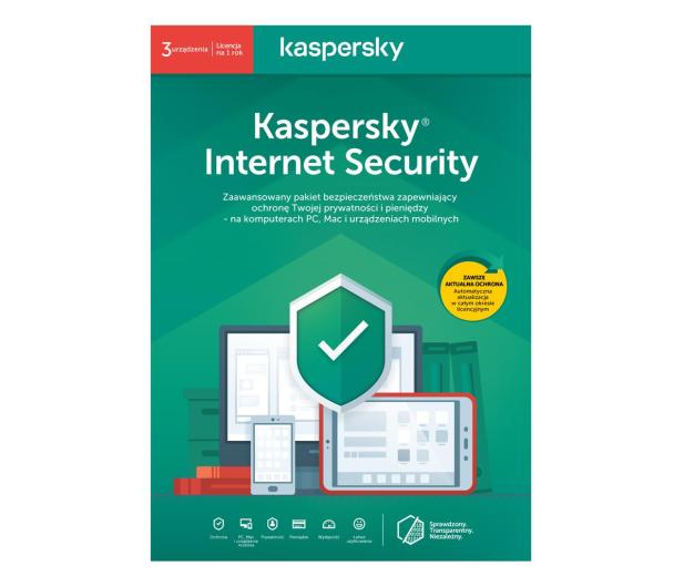 Kaspersky Internet Security Multi-Device 3st. (12m.) ESD - 550029 - zdjęcie