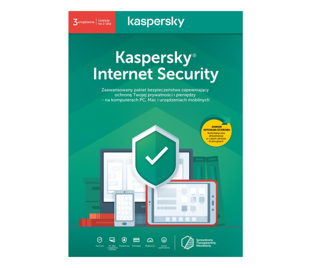 Kaspersky Internet Security Multi-Device 3st. (24m.) ESD - 550031 - zdjęcie