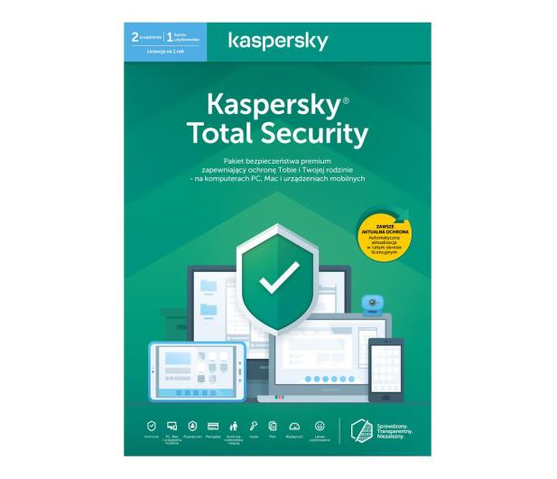 Kaspersky Total Security Multi-Device 2st. (12m.) ESD - 410854 - zdjęcie