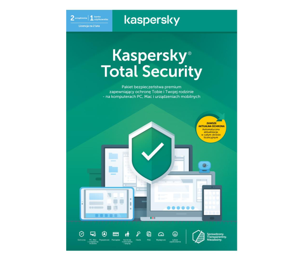 Kaspersky Total Security Multi-Device 2st. (24m.) ESD - 550042 - zdjęcie