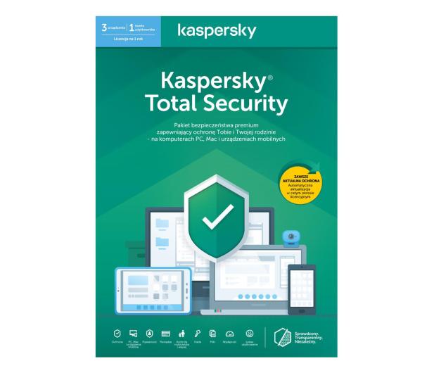 Kaspersky Total Security Multi-Device 3st. (12m.) ESD - 550044 - zdjęcie