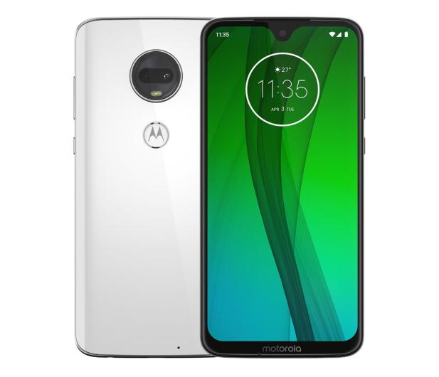 Motorola Moto G7 4/64GB Dual SIM Clear White - 529570 - zdjęcie