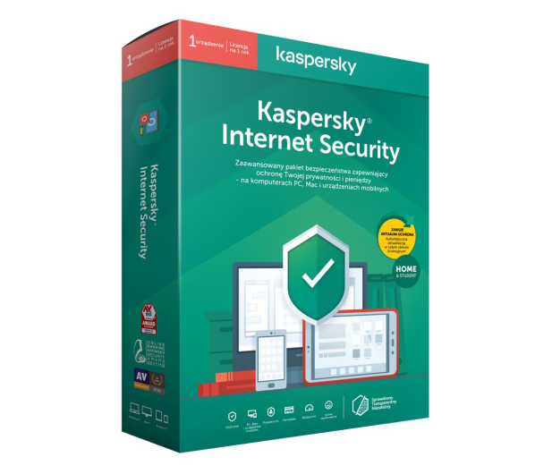 Kaspersky Internet Security Home&Student 1st. (12m.) - 386794 - zdjęcie