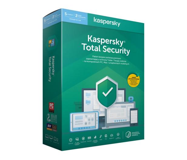 Kaspersky Total Security Multi-Device 5st. (12m.) - 386793 - zdjęcie