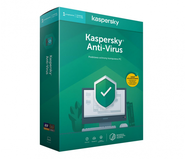 Kaspersky Anti-Virus 1st. (12m.) - 266734 - zdjęcie