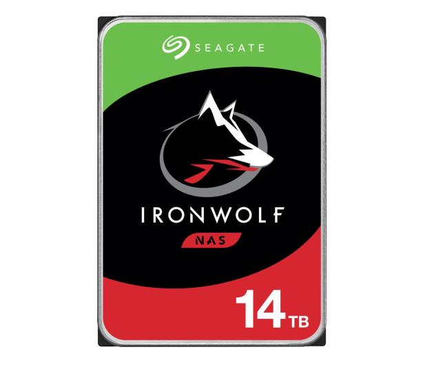 Seagate IRONWOLF 14TB 7200obr. 256MB  - 488300 - zdjęcie