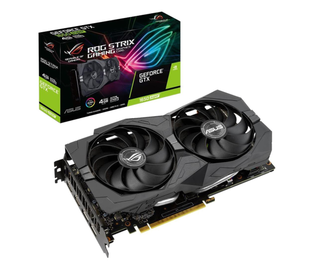 ASUS GeForce GTX 1650 SUPER ROG Strix Gaming 4GB GDDR6 - 529183 - zdjęcie