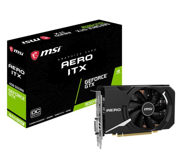 MSI GeForce GTX 1650 SUPER AERO ITX OC 4GB GDDR6 - 529901 - zdjęcie