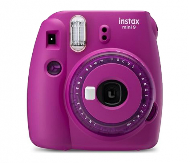 Fujifilm Instax Mini 9 purpurowy  - 529225 - zdjęcie