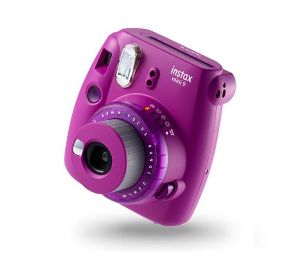 Fujifilm Instax Mini 9 purpurowy  - 529225 - zdjęcie 2