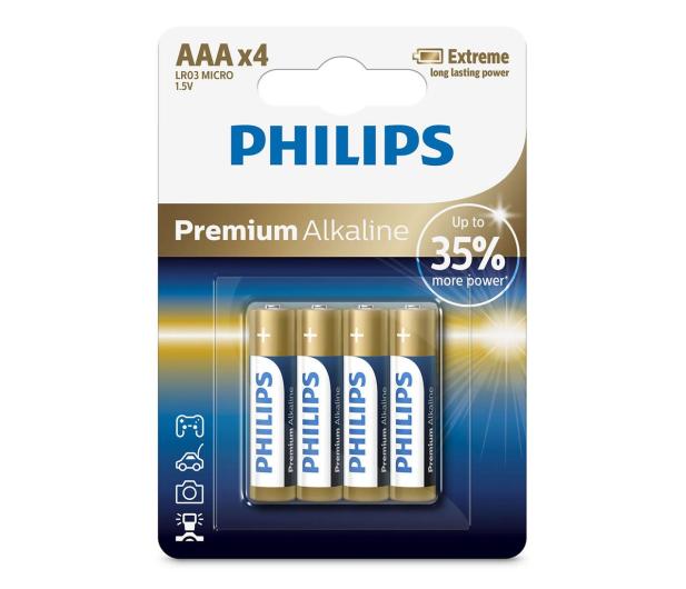 Philips Premium Alkaline AAA (4szt) - 529284 - zdjęcie