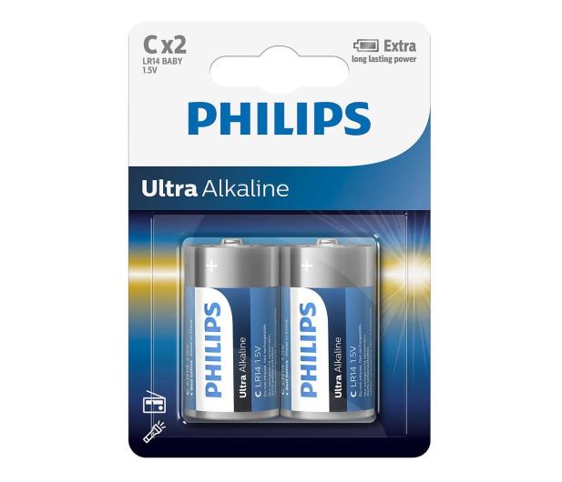 Philips Ultra Alkaline C (2szt) - 529285 - zdjęcie