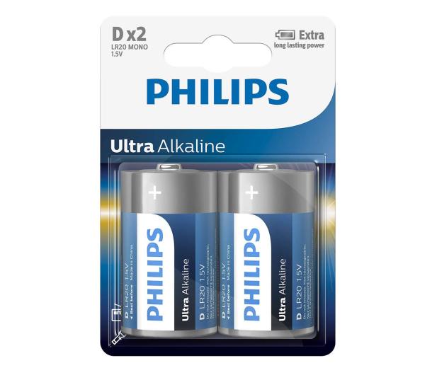 Philips Ultra Alkaline D (2szt) - 529286 - zdjęcie