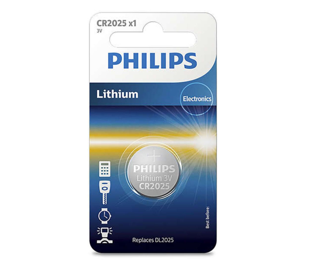 Philips Lithium button cell CR2025 (1szt) - 529298 - zdjęcie