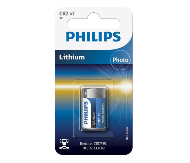 Philips Lithium photo CR2 (1szt) - 529296 - zdjęcie