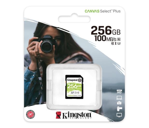 Kingston 256GB Canvas Select Plus odczyt 100MB/s - 529854 - zdjęcie 3