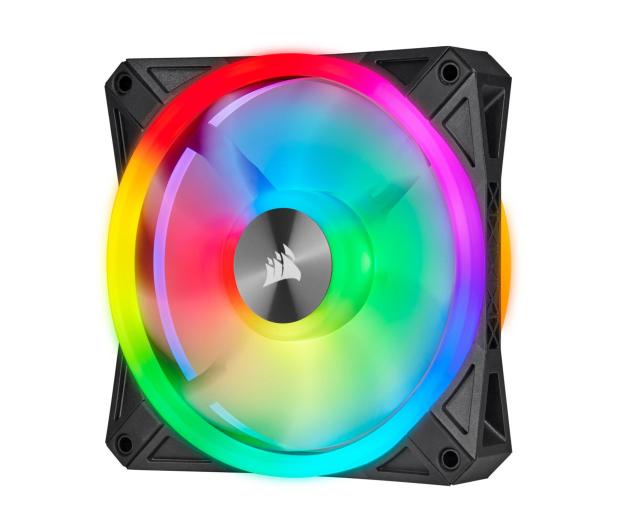 Corsair iCUE QL120 RGB PWM 120 mm 3pack + Lighting Node  - 529995 - zdjęcie 2