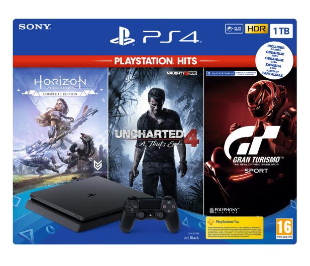 Sony PlayStation 4 Slim 1TB + HITS - 529889 - zdjęcie 6
