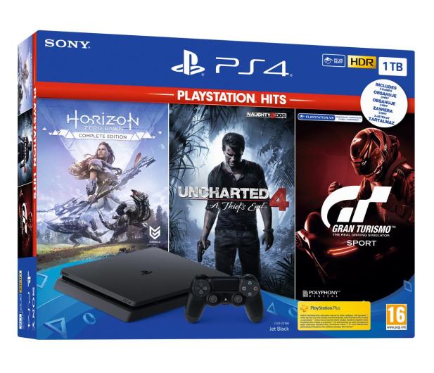 Sony PlayStation 4 Slim 1TB + HITS - 529889 - zdjęcie