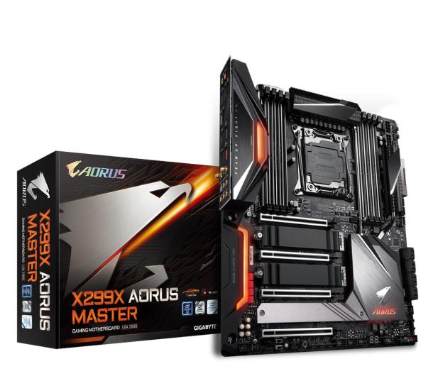 Gigabyte X299X AORUS MASTER - 530091 - zdjęcie
