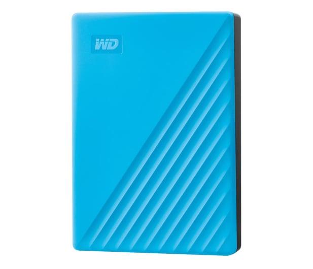 WD My Passport 4TB USB 3.0 Niebieski - 530408 - zdjęcie