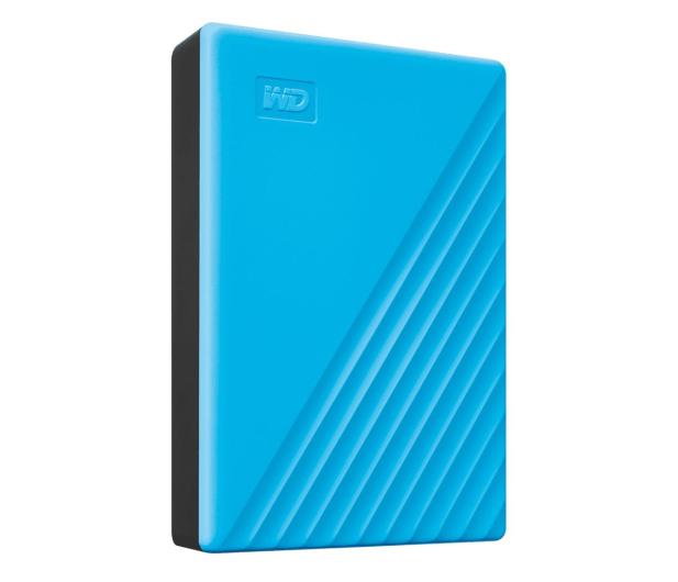 WD My Passport 4TB USB 3.0 Niebieski - 530408 - zdjęcie 3