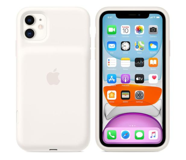 Apple Smart Battery Case do iPhone 11 White - 530229 - zdjęcie 4