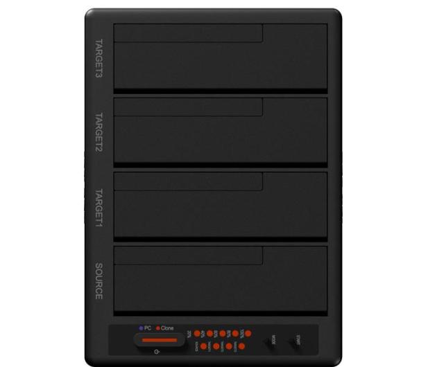 ICY BOX Stacja Dokująca/klonująca na dysk 4x 2,5'' i 3,5'' - 315716 - zdjęcie 4
