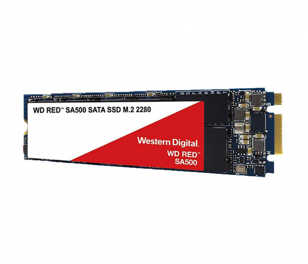 WD 2TB M.2 SATA SSD Red SA500 - 525243 - zdjęcie 2