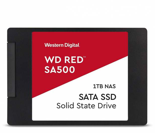 "WD 1TB 2,5"" SATA SSD Red SA500 - 525236 - zdjęcie"
