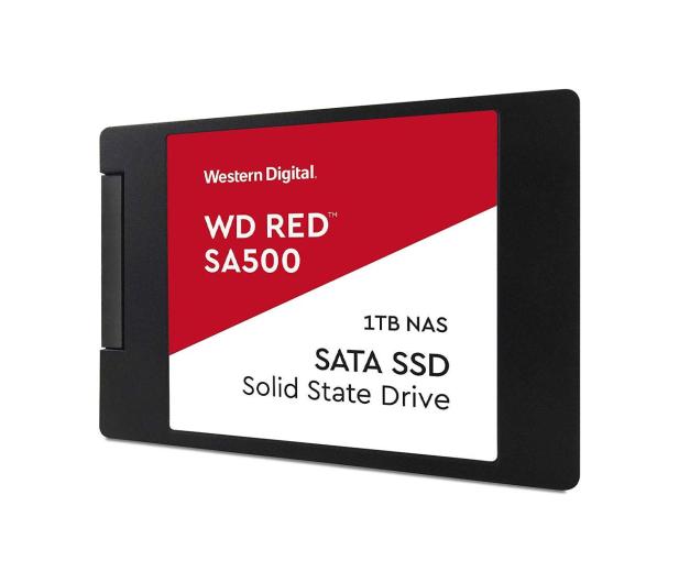 "WD 1TB 2,5"" SATA SSD Red SA500 - 525236 - zdjęcie 3"