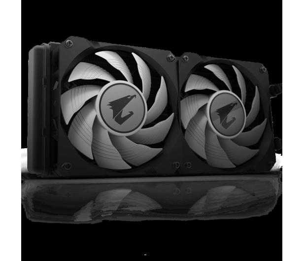 Gigabyte Aorus Liquid Cooler RGB 240 2x120mm - 525212 - zdjęcie 3